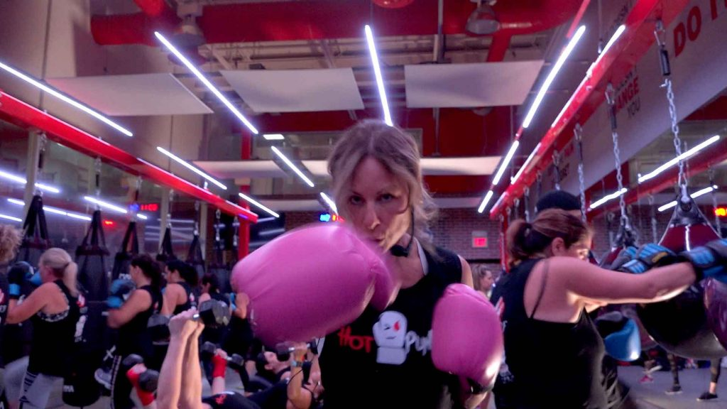 Hot Punch Infrared Kickboxing Program