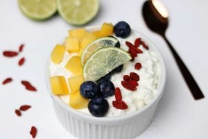 Cottage Cheese Fruit Bowl